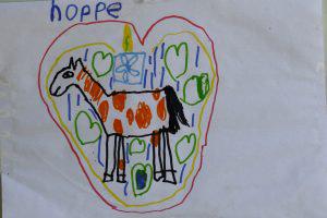 dessin painthorse enfant