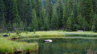 Lac de montagne en Autriche, road-trip