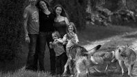 Titania Corre, famille et chiens-loups de saarloos