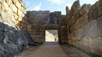 La porte des lionnes, Mycènes, Grèce