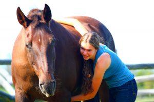 Denver, maîtresse-jument du Teepee Heart Ranch