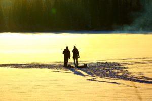 pêche blanche chilcotin